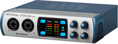 Presonus Studio 26 usb interface