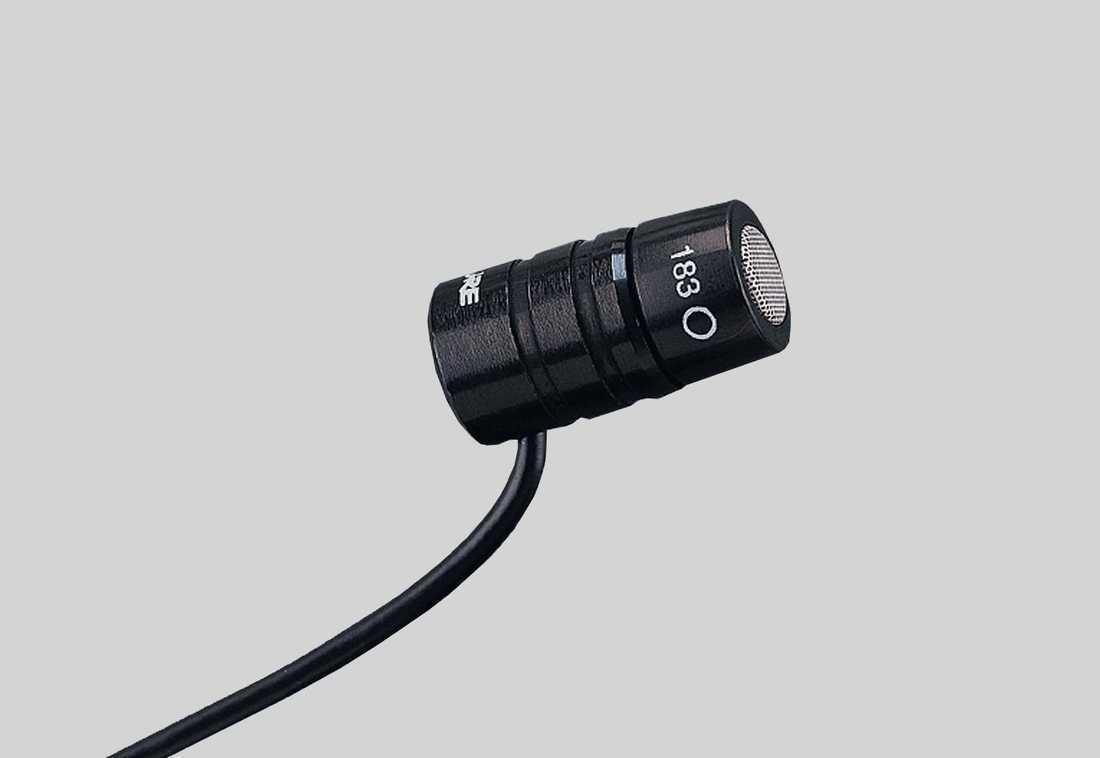 Shure MX183 Omnidirectional Lavalier Microphone