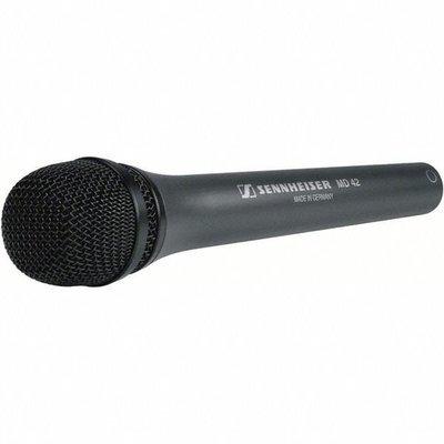 Sennheiser MD 42 reporter microphone