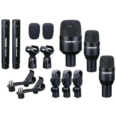 Takstar DMS-D5 drum microphone set