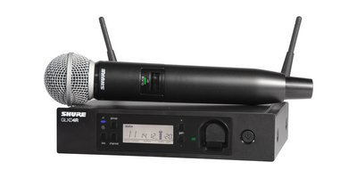 Shure GLXD24R/SM58 (2.4G digital wireless microphone system)