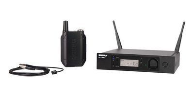 Shure GLXD14R/93 Lavalier Wireless Microphone System (2.4Ghz digital)