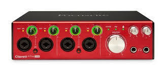 Focusrite CLARETT 4PRE USB 18-IN, 8-OUT AUDIO INTERFACE FOR PC AND MA