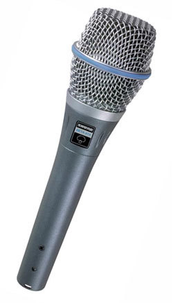 Shure BETA 87C人聲話筒 vocal microphone