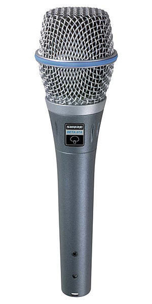 Shure Shure BETA 87A人聲話筒 vocal microphone