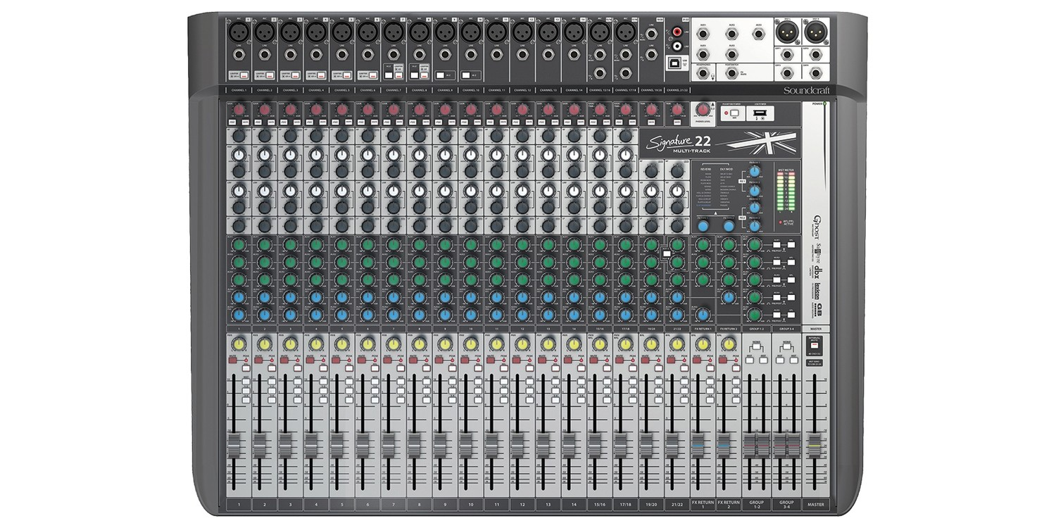 Soundcraft Signature 22 MTK mixer