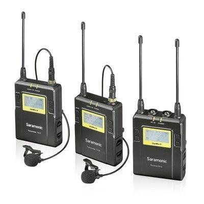 Saramonic UWMIC9 一拖二無線拍攝套裝 (RX9 + TX9 + TX9)