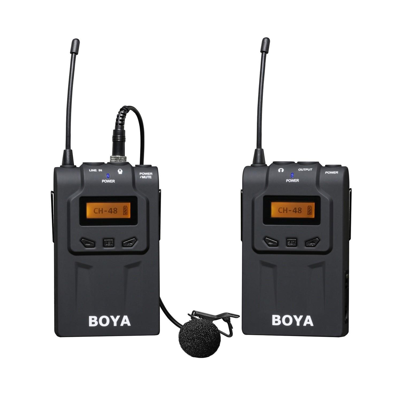 BOYA BY-WM6 wireless microphone for DSLR video