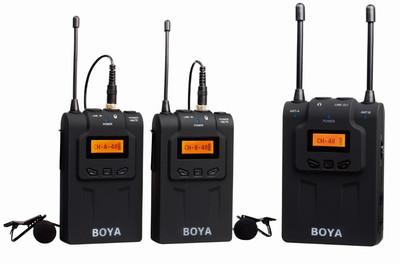 BOYA BY-WM8 (dual channel wireless microphone for DSLR video)