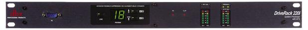 DBX DriveRack® 220i System Processor