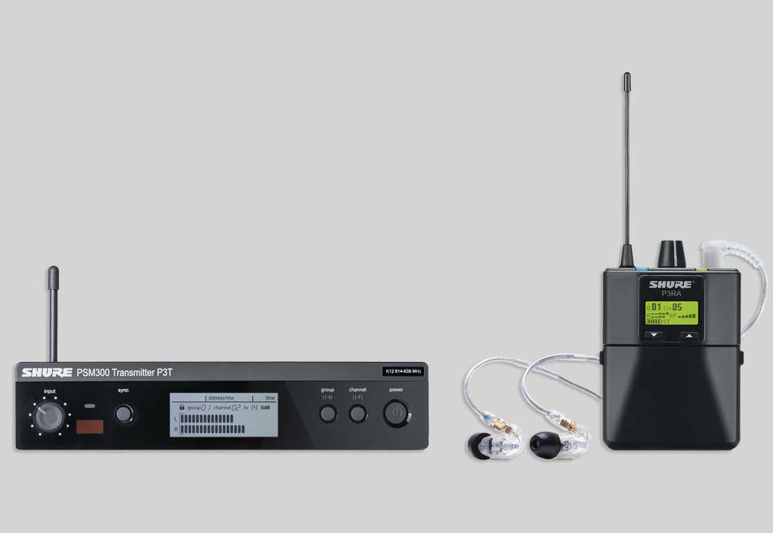 Shure PSM 300 Stereo Personal Monitor Systems