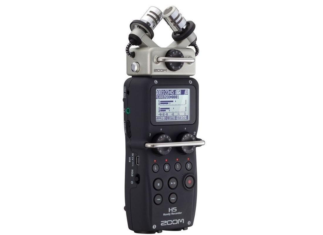 Zoom H5 手提錄音器 (professional handheld recorder)