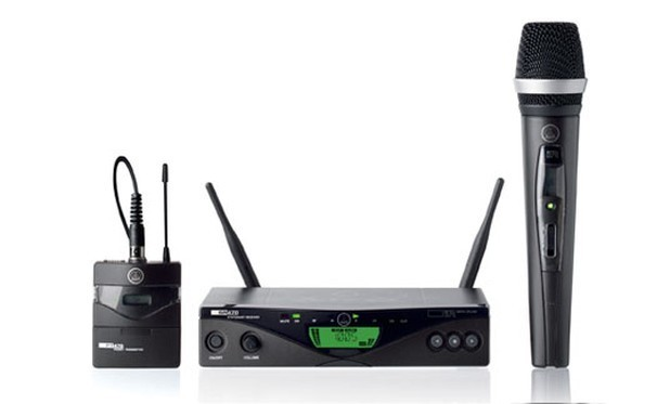 AKG WMS 470 wireless microphone 無線咪