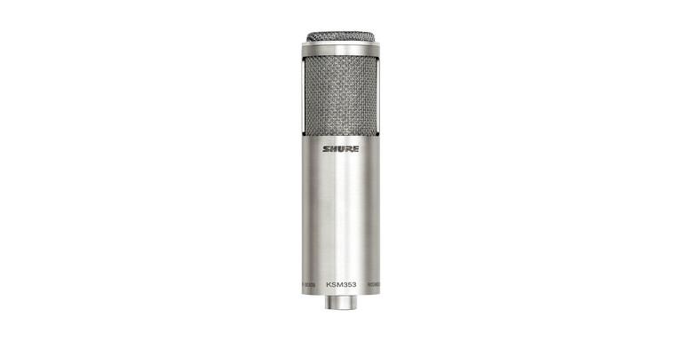 Shure KSM353/ED Premier Bi-directional Ribbon Microphone