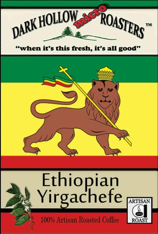 """Ethiopian Yirgachefe in the 5 pound """"Power User"""" bag"""