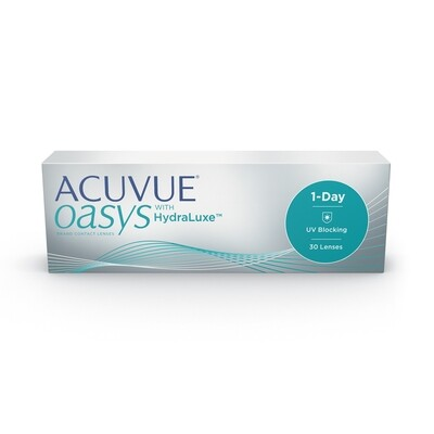 Acuvue Oasys 1-Day with HydraLuxe 30's