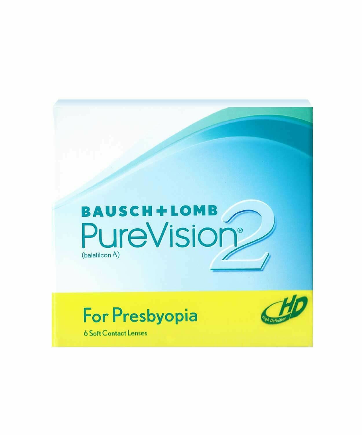 PureVision 2 HD Multifocal Monthly 6's