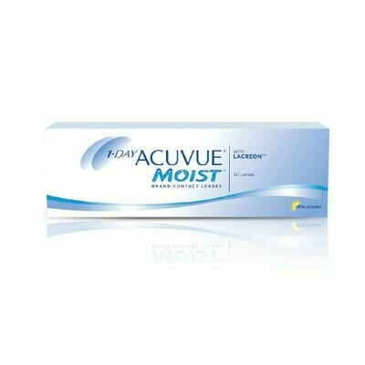 1-Day Acuvue Moist Dailies 30's
