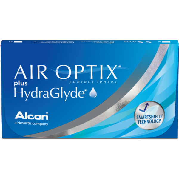 Air Optix Plus Hydraglyde Monthly 3's