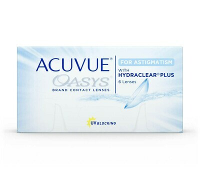 Acuvue Oasys Toric with Hydraclear Bi-Weekly 6's