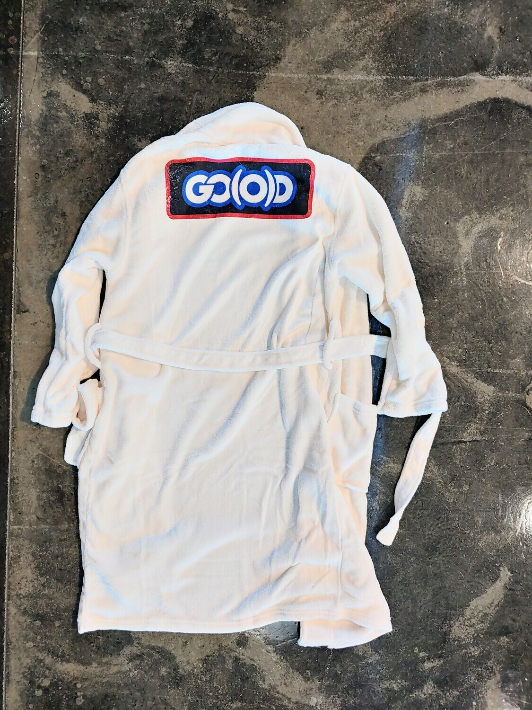GO(O)D Inbox Plush Robe-white/red/black/royal