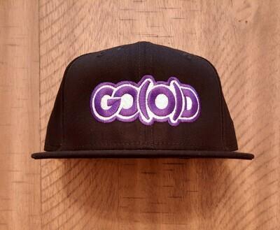 GO(O)D Company x New Era Snapback-black/purple/white