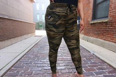 Women's Joggers-camo