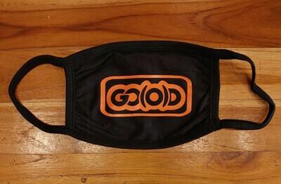 GO(O)D Inbox Logo Mask-black/orange logo