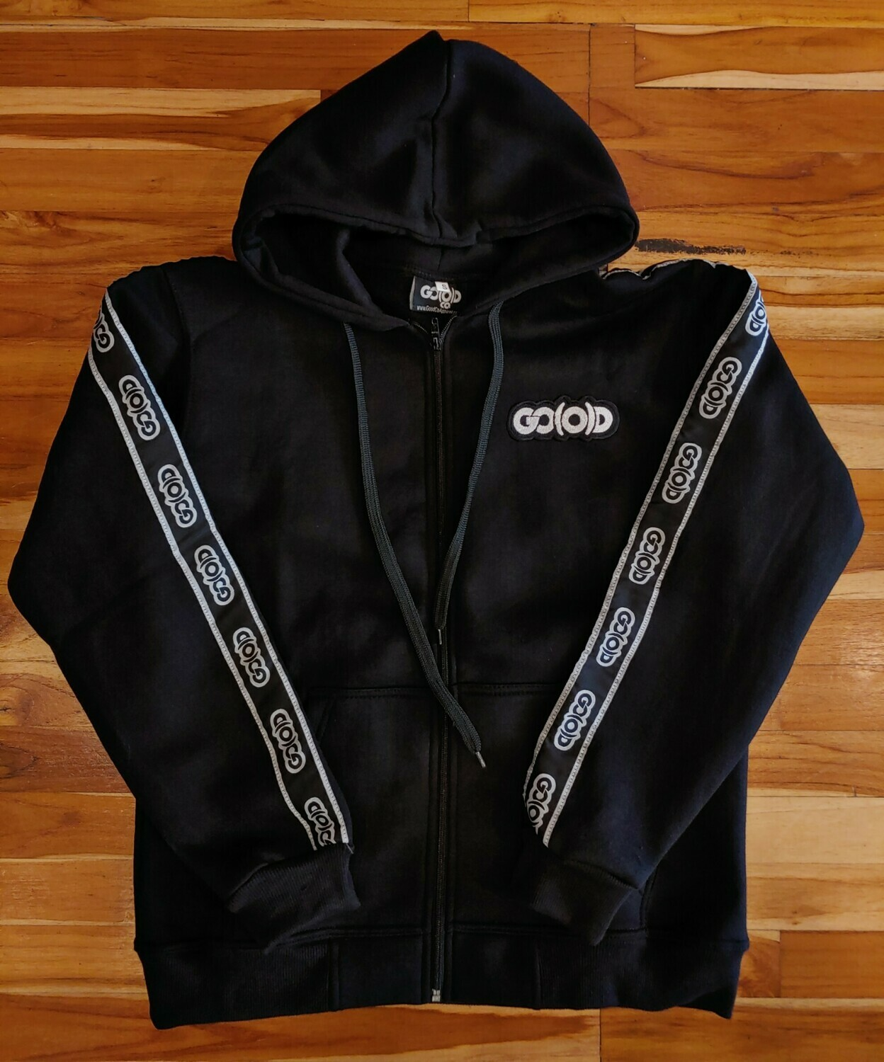 GO(O)D Strip Jacket-black/white