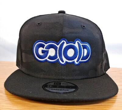 GO(O)D Company x New Era Snapback-black camo/royal/white