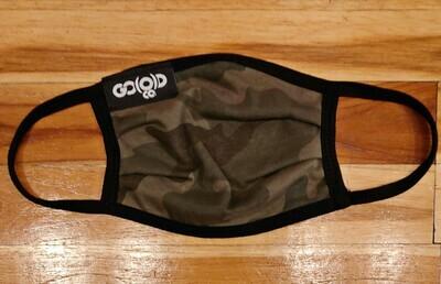 GO(O)D Pleated Mask-camo