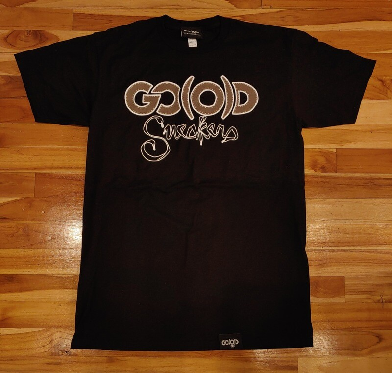 GO(O)D SNEAKERS Tee-black/mocha/white