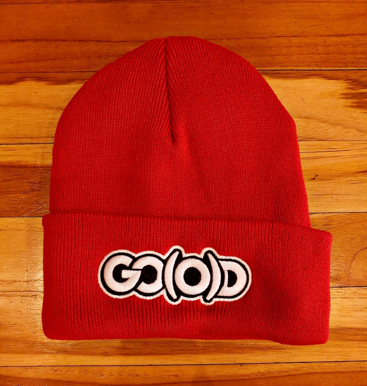 GO(O)D Beanie-red/white/black