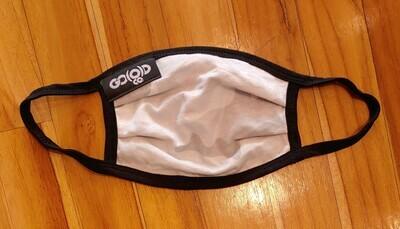 GO(O)D Pleated Mask-white camo