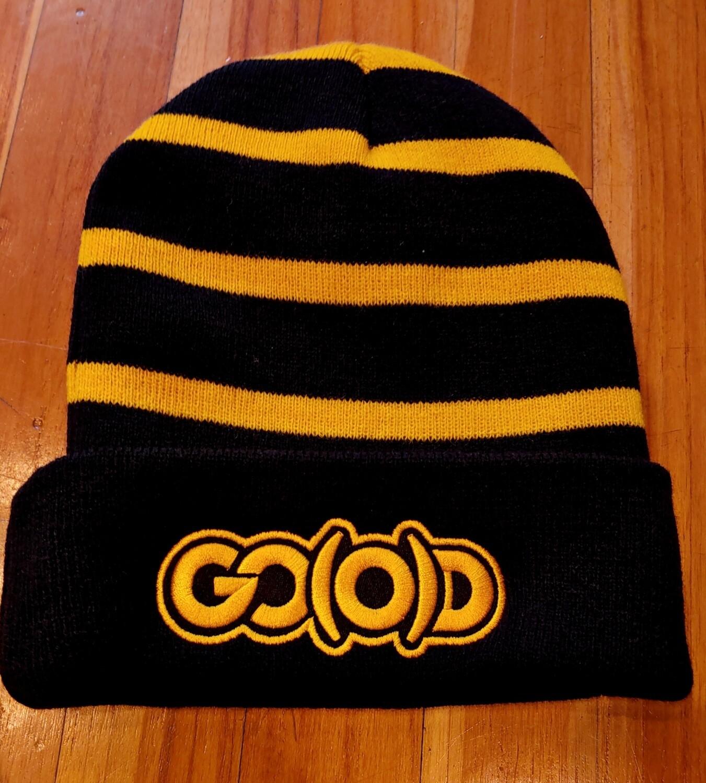 GO(O)D Beanie-black/gold