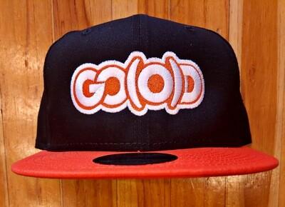 GO(O)D Company x New Era Snapback-black/orange/white