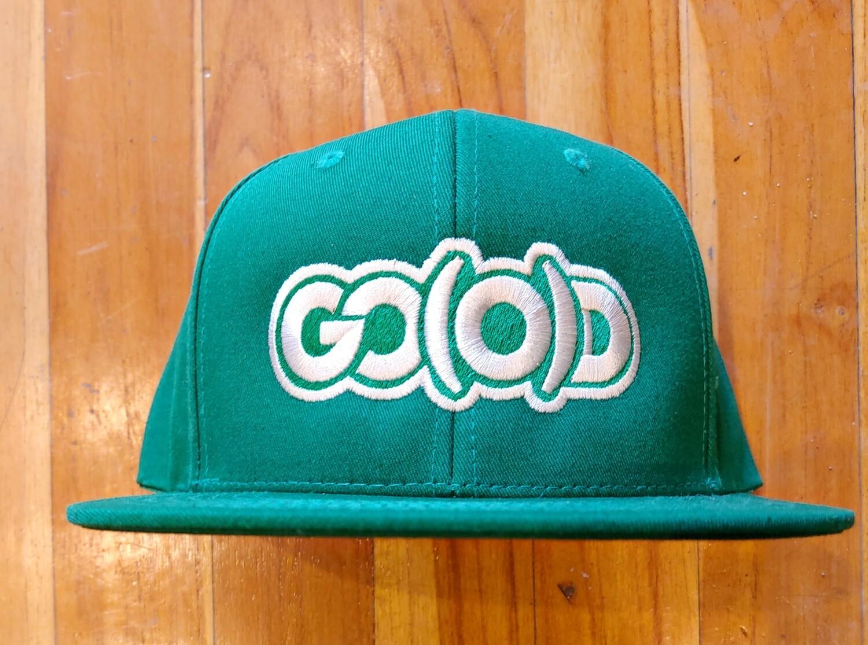 GO(O)D Snap Back-kelly green/vintage white