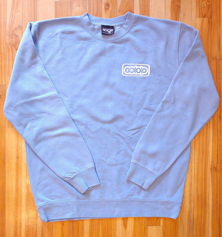 Lifestyle Sweatshirt-baby blue/white inbox logo