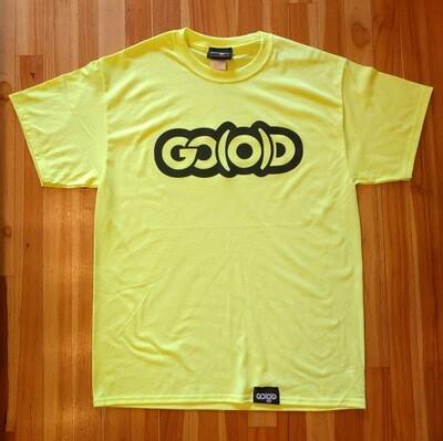 GO(O)D Classic Tee-neon yellow/black