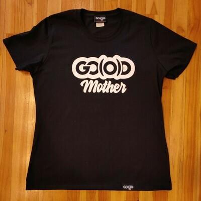 GO(O)D Mother Tee-black-white