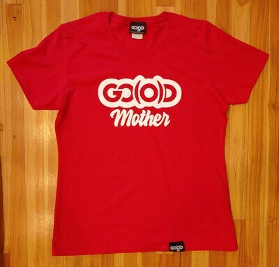 GO(O)D Mother Tee-red-white