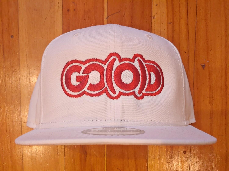GO(O)D Company x New Era Snapback-white/red logo
