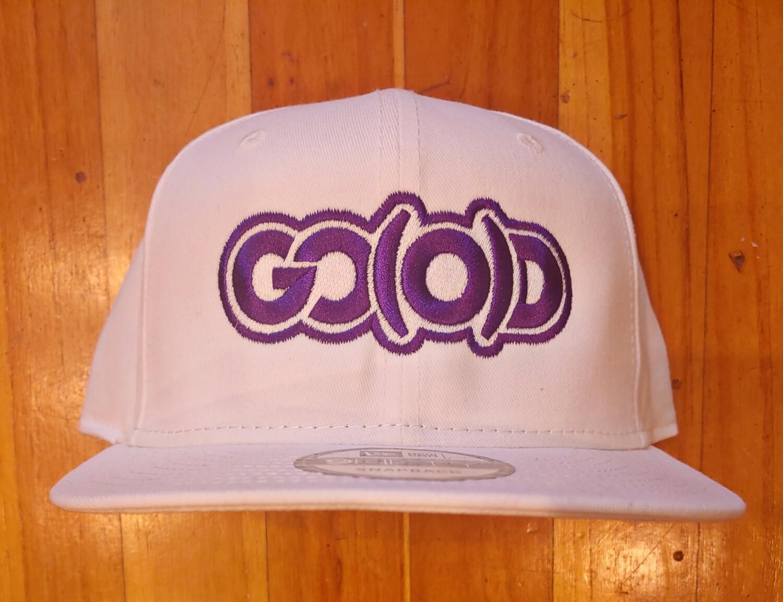 GO(O)D Company x New Era Snapback-white/purple logo
