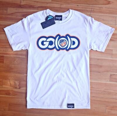 GO(O)D Co x FC CINCINNATI Tee-white/navy/orange
