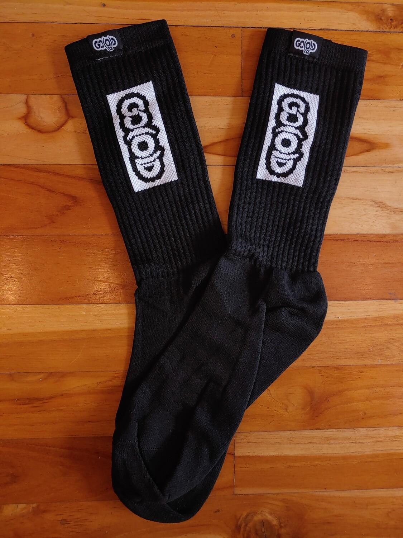 GO(O)D Boxed Up Socks-black/white