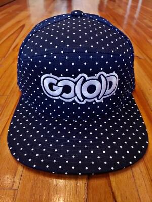 GO(O)D DOTS Strapback-navy/white