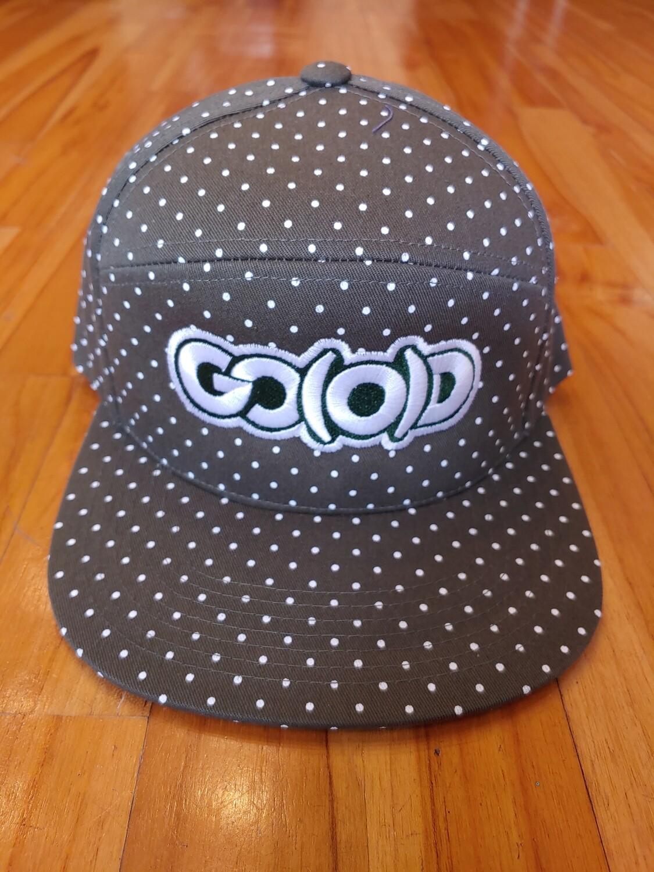 GO(O)D DOTS Strapback-military green/white