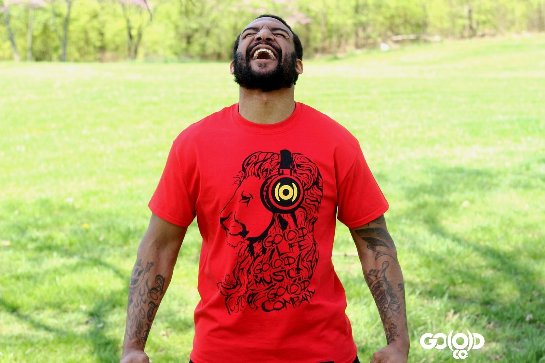 GO(O)D Lion - Red