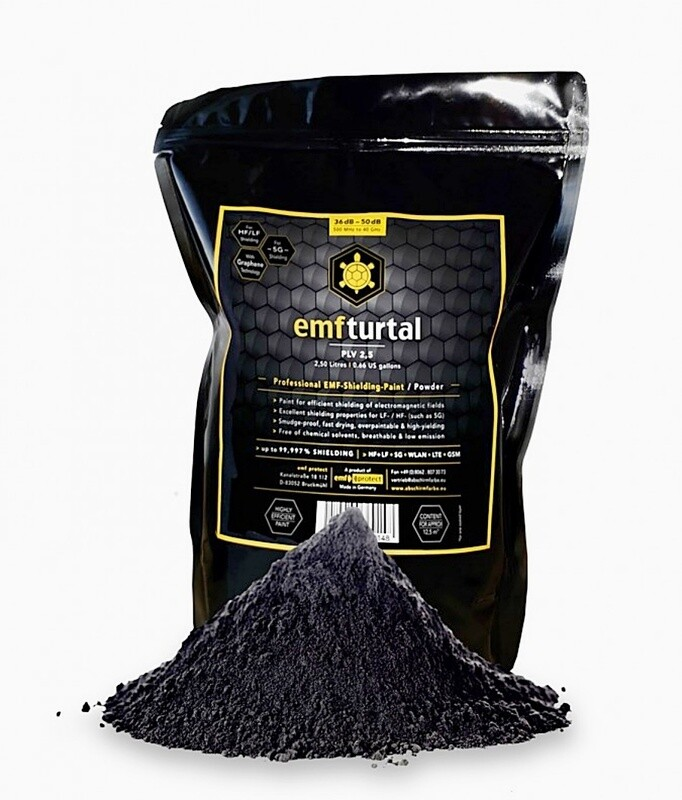 EMF Turtal 5G Protective Shielding Paint - Latest Graphene Technology - Nontoxic Powder - (Indoor Version)