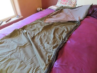 'Survival Shield' Microwave Shielding Comforter / Sleeping Bag / No Fill